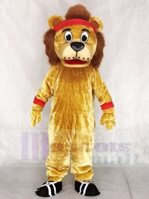 Lenny The Lion Mascot Costumes Animal