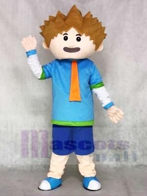 Smart Boy Mascot Costumes People