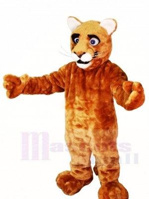 Little Leopard Panther Cat Cougar Cub Mascot Costumes Animal