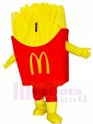 Mc donald's Mcdonald's Chips French Fries Fried Mascot Costumes Snacks Food