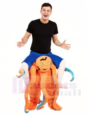 Piggy Back Octopus Carry Me Ride on Mascot Costumes Halloween Christmas