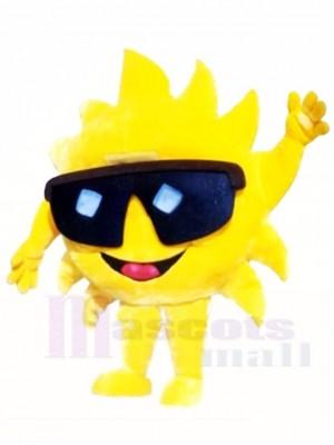 Mr. Sunshine with Sunglasses Mascot Costumes