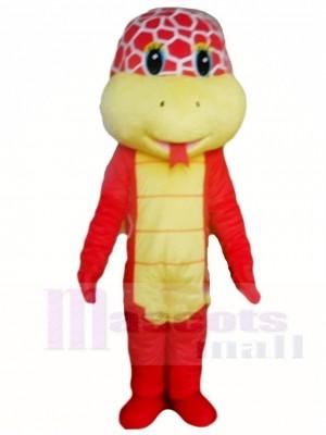 Red Cobra Snake Mascot Costumes Animal