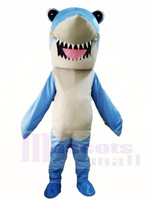 Blue Shark Mascot Costumes Sea Ocean