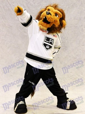 Bailey the Lion of the Los Angeles Kings Mascot Costume