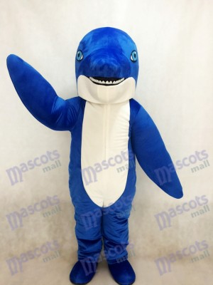 New Blue Dolphin Mascot Costume