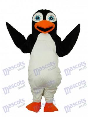 Black Penguin Mascot Adult Costume