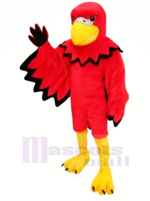 Red Funny Bird Mascot Costumes Cartoon