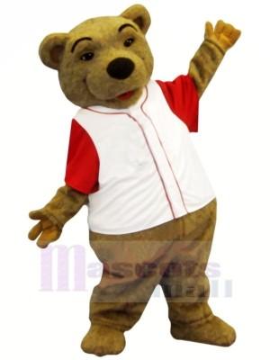 Lovely Brown Bear Mascot Costumes Cartoon