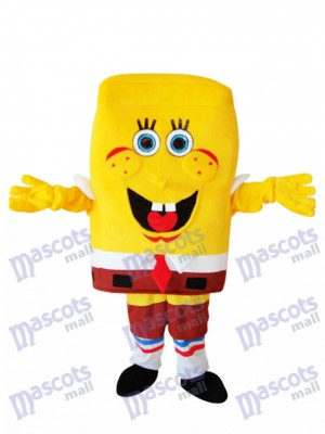 Big Nose SpongeBob Adult Mascot Costume
