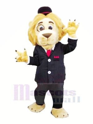 Solicitor Lion Mascot Costumes Cartoon