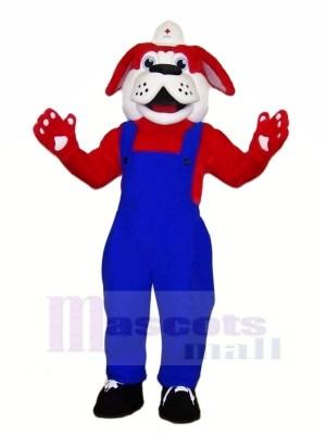 Red Cross Dog Mascot Costumes Cartoon