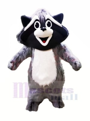 Cute Grey Raccoon Mascot Costumes Animal