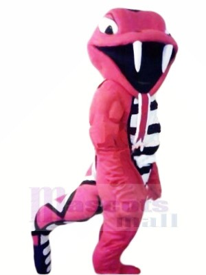 Fierce Red Cobra Mascot Costumes