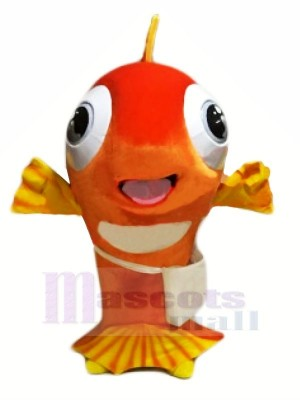 Happy Fish Mascot Costumes Cartoon