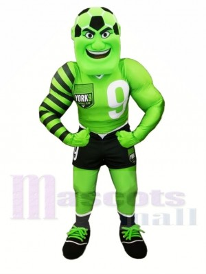 Football Man Mascot Costume