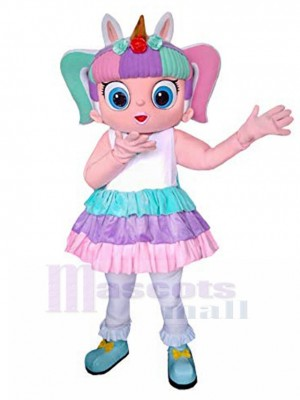 LOL Doll Unicorn Giant Mascot Costume