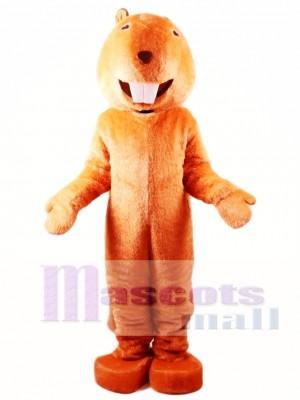 Adult Beaver Mascot Costume
