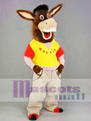 Martin the Donkey Mascot Costume