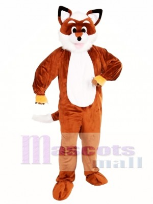 Adult Fox Mascot Costume