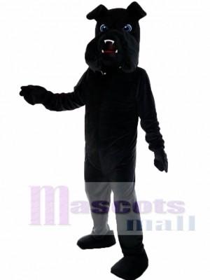 Black Bulldog Bull Dog Mascot Costume