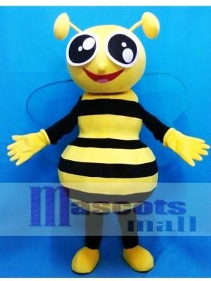 Happy Honey Bee Mascot Costume