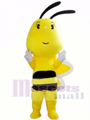 Big Head Bee Mascot Costume