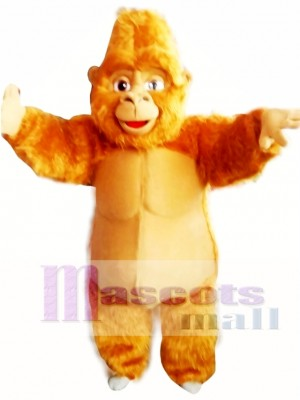 Brown Gorilla Mascot Costume Adult Costume