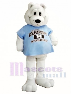 White Bear Mascot Costume