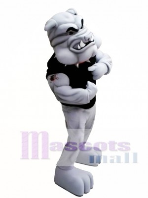 Power Bulldog Mascot Costume