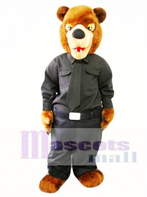 Cree Nation Police Bear Mascot Costume