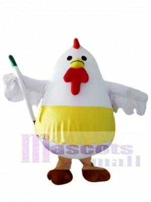 Fat Chicken Mascot Costume