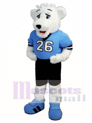 Ice Hockey Polar Bear Mascot Costume