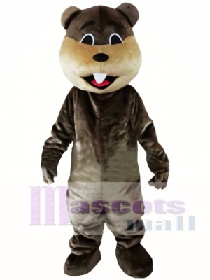 Beaver Mascot Costume Jungle River Animal Mascot Costume