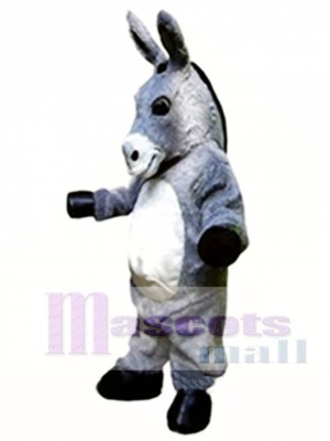 Gray Donkey Mascot Costume Animal Costume for Adult