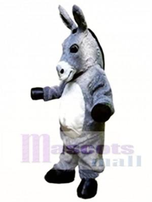 Gray Donkey Mascot Costume Animal Costume for Adult