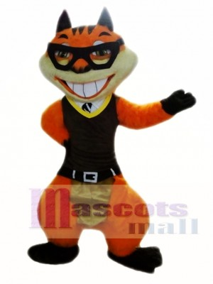 Orange Squirrel Mascot Costumes