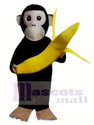Chimpanzees and Banana Mascot Costumes