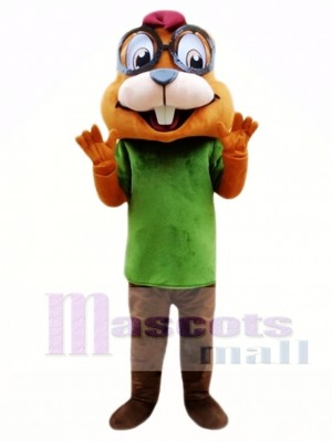 Chipmunk Mascot Costume Custom Fancy Costume