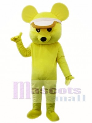 Yellow Mouse Mascot Costume