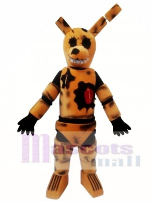 FNAF Five Nights At Freddy's Toy Brown Bunnie Mascot Costume