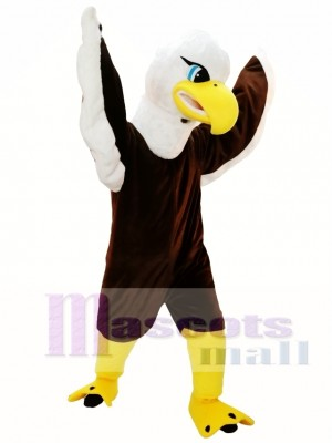 Brown Eagle Mascot Costume