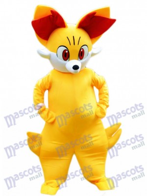 Fired Fennekin Pocket Monster Pokemon Pokémon Go Mascot Costume