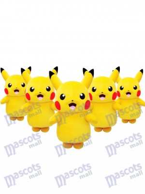 Ready to Ship Japanese Pikachu Pokémon Pokemon Go Mascot Costume Fancy Dress Outfit in Stock