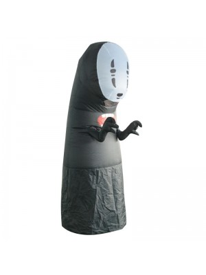 Faceless Man Inflatable Costume from Spirited Away Bodysuit for Adult