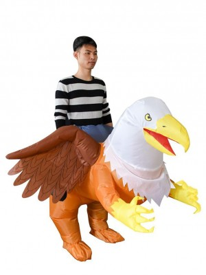 Griffin Eagle Bird Carry me Ride on Inflatable Costume Halloween Christmas Costume for Adult