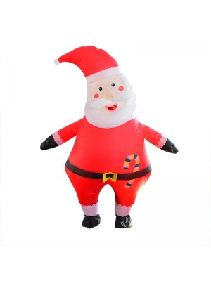 Santa Claus Inflatable Costume Halloween Christmas Costume for Adult Candy Santa