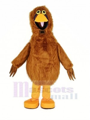Light Brown Bird Mascot Costume Animal