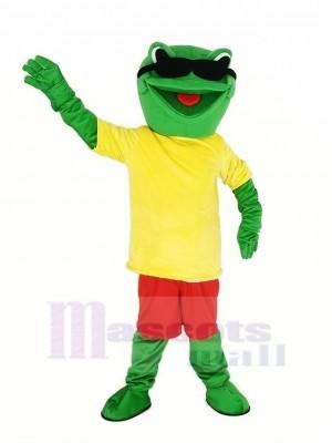 Cool Frog Mascot Costume Animal