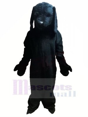 All Black Dog Mascot Costumes Animal
